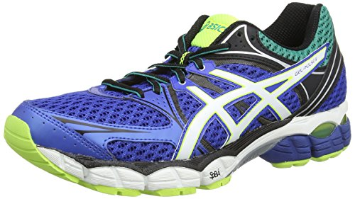 Asics Gel-Pulse 6, Chaussures de trail homme Bleu (Blue/Snow/Flash Yellow 4200)