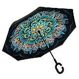 Best Gli ombrelli - RGTOPONE Panno Doppio Strato Ombrello Invertito Asciugatura Veloce Review