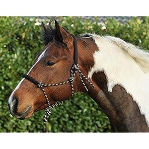 HKM 1400 Knotenhalfter, Knoti Trainingshalfter Horsemanship, Pony Cob Full