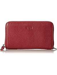 Liv 134, Brick Red, Zipped Combi. Pu. M, Womens Wallet, Rot (Brick Red), 2x8x15.5 cm (B x H T) Bree