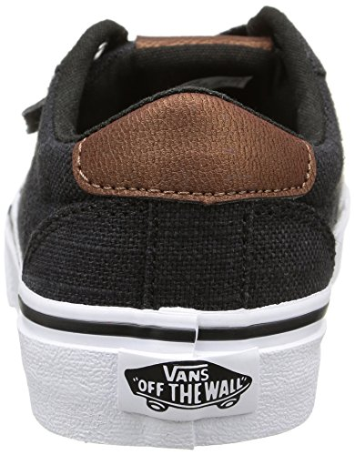 Vans Jungen Bishop Sneaker Schwarz (textile/black/potting Soil)