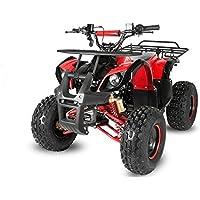 "Nitro Motors 125cc Toronto RS8-A Midi Quad 8"" Automatik + Rückwärtsgang Kinderquad ATV Bike"