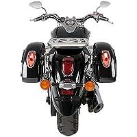 Sacoches rigides + supports latéraux Small Kawasaki VN 900 Classic 06-16