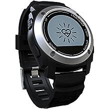 Medición de fitness pulsera/brazalete de fitness Golf/Podómetro Pulsera Pulsómetro/funda de reloj para niños mujer/Sport Smartwatch Android DFG de S928, soporte para Android IOS/Vida impermeable