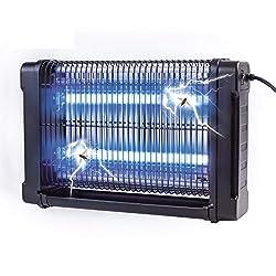 Gardigo UV Insektenvernichter elektrisch 16 W I Insektenabwehr für 70 m² I GS geprüft I Deutscher Hersteller I Mit Kette zum aufhängen I Elektronischer Schutz gegen Mücken, Fliegen, Moskitos