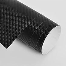 Vinilo de fibra de carbono 3D para coche - no forma burbujas / con salida de aire 1.52m x 3m