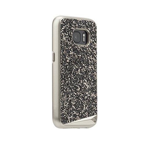 Case-Mate Brilliance Case für Samsung Galaxy S7 in champagner - von Samsung zertifizierte Schutzhülle [Echte Kristalle | Einzigartig & edel | Tasten in Metall Optik] - CM033942 - Original Case-mate