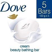 Dove Cream Beauty Bathing Bar, 100g (Buy 4 Get 1 Free)
