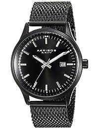 Akribos XXIV Reloj con movimiento cuarzo japonés Man 42 mm