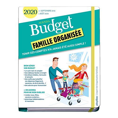 Agenda du budget 2020 (de septembre 2019 à août 2020) par  (Reliure à spirales - Jun 5, 2019)