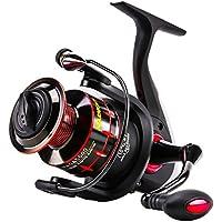 SeaKnight NAGA Fishing Reel 11BB Smooth Spinning Fishing Reels with Spare Spool Carp Fishing Reels, Max Drag 16.6 Lbs