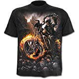 Spiral Wheels Of Fire T-Shirt schwarz L