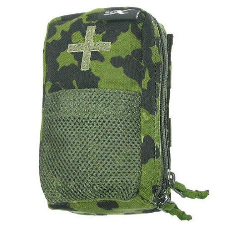 BE-X Abnehmbare Erste Hilfe Tasche mit Adapter für Modular System - dänisch tarn