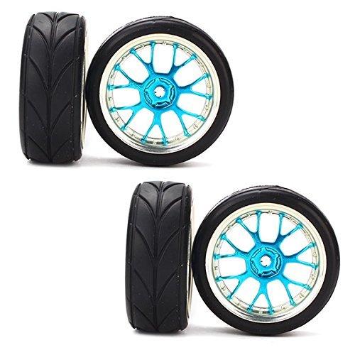 dn-rc-110-flat-racing-car-y-forma-neumaticos-hub-llanta-flecha-cereales-paquete-de-4-azul
