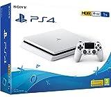 PS4 Slim 1Tb weiß PlayStation 4 - Konsole (1Tb, weiß, slim)