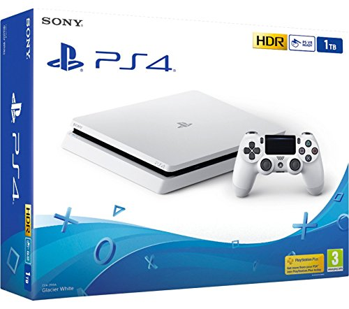 PS4 Slim 1Tb Blanca Playstation 4 -...
