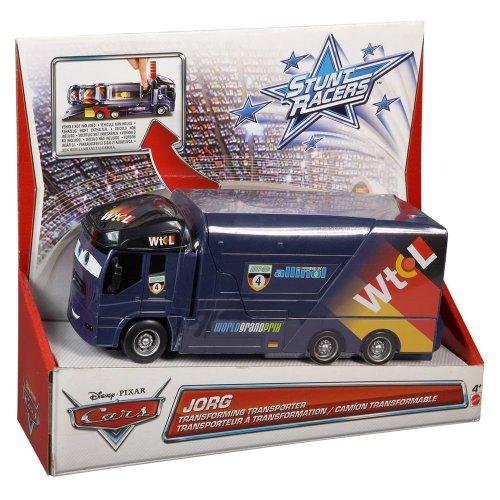 Disney Cars Jorg Transporter - Stunt Racers Serie - veränderbarer LKW
