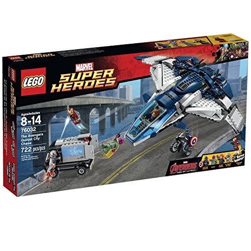 LEGO Superheroes The Quinjet City Chase by LEGO