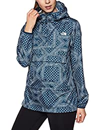 The North Face W Fanorak Chaqueta, Mujer, Azul Teal, L