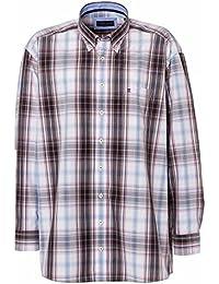 CASAMODA Herren Businesshemd 431665700 Regular Fit bügelleicht