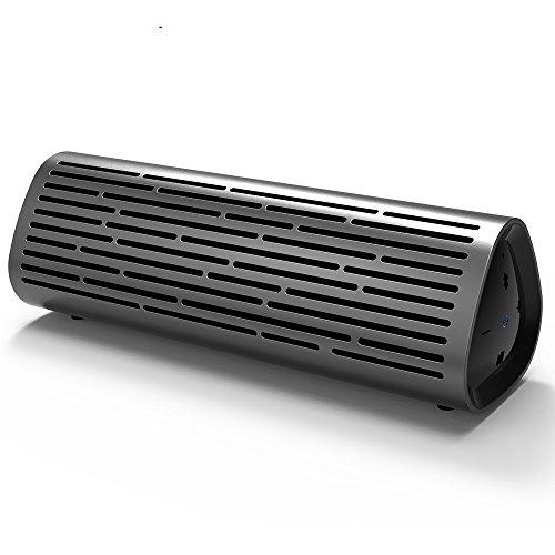 JSGJYX Bluetooth Lautsprecher 1 PSC Portable Wireless Bluetooth Lautsprecher 10 W satten, Tiefen Bass Lautsprecher Wasserfest IPX4 Built-in Mic 10-Stunden Spielzeit