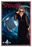 Close Up Doctor Who Poster Spoilers (94x63,5 cm) gerahmt in: Rahmen rot