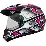 THH tx-13# 3Dual Sport Motocross Helm S Schwarz/Pink