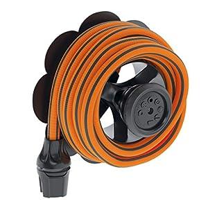 Claber – Tubo extensible Springy MT.15 9334, naranja y negro