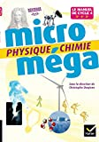 Microméga - Physique-Chimie Cycle 4 Éd. 2017 - Livre élève