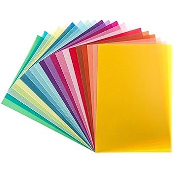 50 Blatt DIN A4 Gmund Transparentpapier 100g Farbe rot transparent FPA-122