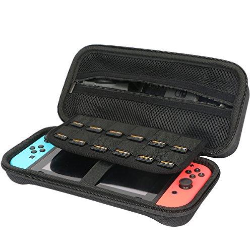 Preisvergleich Produktbild Für Nintendo Switch Konsole EVA Hart Reise Tragetasche Tasche von Khanka