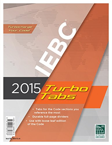 2015 International Existing Building Code Turbo Tabs for Loose Leaf Edition
