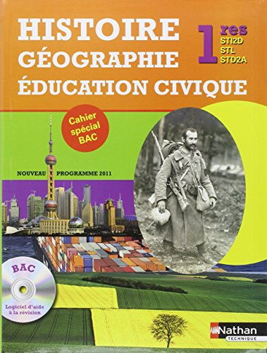 Histoire-Gographie ducation Civique - 1res STI2D-STL-STD2A