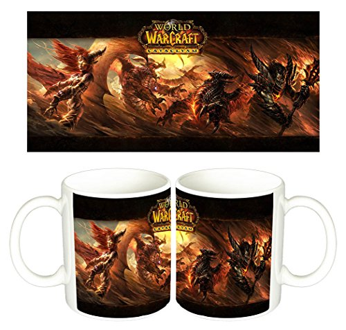World Of Warcraft Cataclysm WoW Tasse Mug