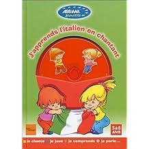 J'apprends l'italien en chantant (1 livre + 1 CD audio)