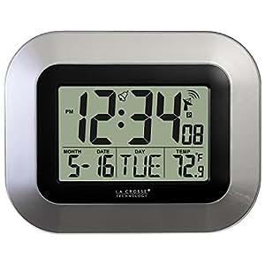 La Crosse Technology WT 8005U S atomique Horloge murale