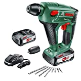 Bosch Uneo Maxx Martello Perforatore Ricaricabile, con 2 Batterie, 18V