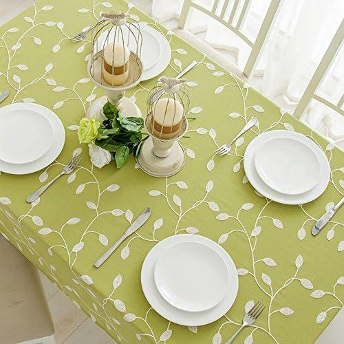 110170 110170 110170 cm verde foglia stile nordico minimalista Instagram Garden picnic rettangolare da pranzo tovaglia in cotone lino quadrato eco-friendly copre B076FV9L4G Parent | A Basso Costo  | Sale Italia  | Good Design  9b0637