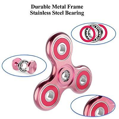 Cheeringary Spinner Fidget Star Spinner Fidget Hand Finger Toy Metall Handspinner Prime 3D Druck Spielzeug