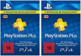 PlayStation Plus Mitgliedschaft - 6 Monate [PS4 Download Code - deutsches Konto]