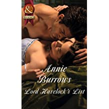 Lord Havelock's List (Mills & Boon Historical)