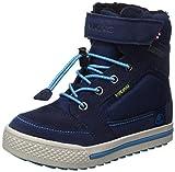 Viking Unisex-Kinder Zing Hohe Sneaker, Blau (Navy/Light Blue), 34 EU