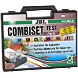 JBL Test Combi Set Plus Fe, Coffret de tests des principaux paramètres d'eau en aquarium d'eau douce, Test fer inclus