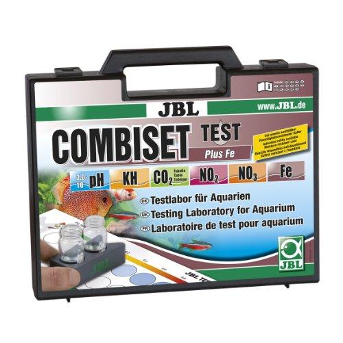 JBL Test Combi Set Plus Fe 25500 Testkoffer für Wasserwerte inkl. Eisentest in bepflanzten Aquarien (Bepflanzten Aquarium)