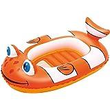 Bestway 34089 Kinderboot Little Buddy Clownfish, 102 x 69 cm