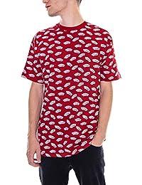Vans - Camiseta - MN All Over Distorted SS - Rojo ca74e1f8e28