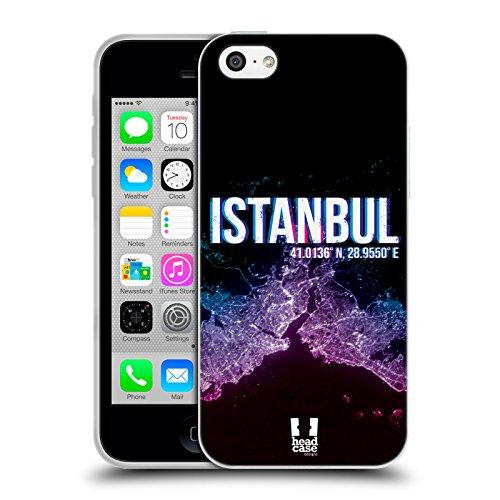 Head Case Designs Istanbul Lumières De La Ville Étui Coque en Gel molle pour Apple iPhone 5 / 5s / SE Istanbul
