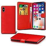 Lapinette Schutzhülle Wallet-Etui für Apple iPhone XR rot