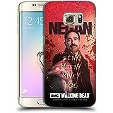 Officiel AMC The Walking Dead Eeny Miney Coloré Negan Étui Coque D'Arrière Rigide Pour Samsung Galaxy S7 edge