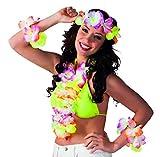 Boland 52368 - Kostümset Hawaii, 1 Stirnband, 1 Kette und 2 Armbänder